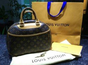 Louis Vuitton Bowlingtas bruin-zandig bruin