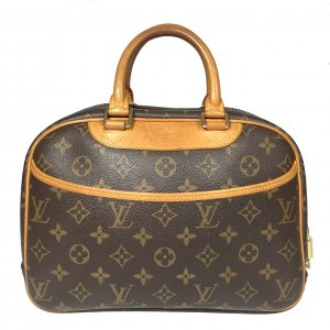 LOUIS VUITTON TROUVILLE REISETASCHE/HANDTASCHE AUS MONOGRAM CANVAS