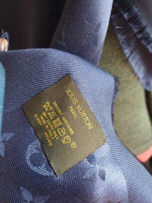Louis Vuitton Tuch Blau inkl Rechnungskopie
