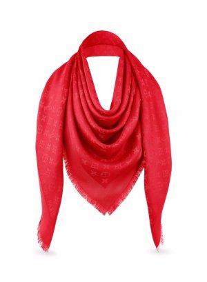 Louis Vuitton Tuch Monogram red wie Neu