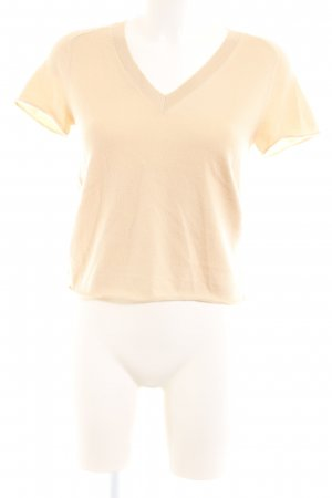 Louis Vuitton V-Ausschnitt-Shirt nude Casual-Look