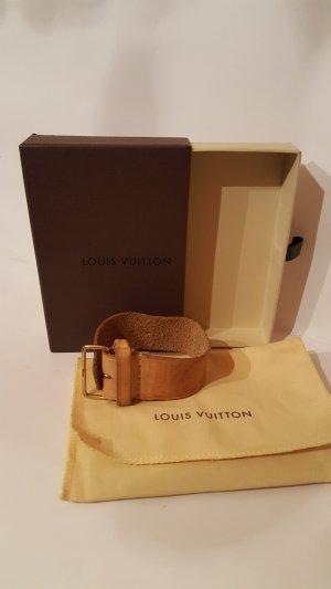 Louis Vuitton Weekendtas bruin Leer