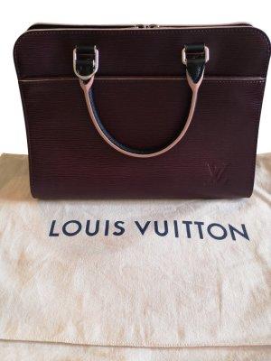 Louis Vuitton Bolso violeta Cuero