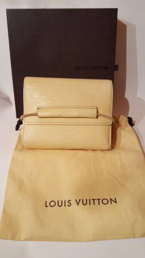Louis Vuitton Portefeuille jaune primevère cuir