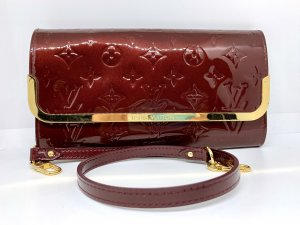 Louis Vuitton Pochette brun rouge