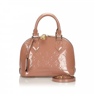 Louis Vuitton Vernis Alma BB with Strap
