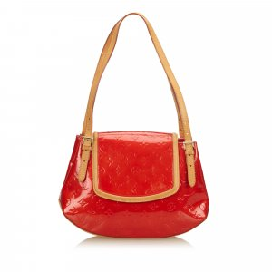 Louis Vuitton Schoudertas rood Imitatie leer