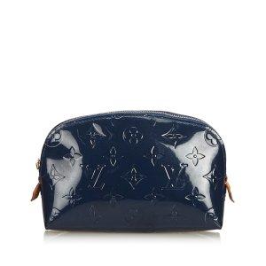 Louis Vuitton Pouch Bag blue imitation leather