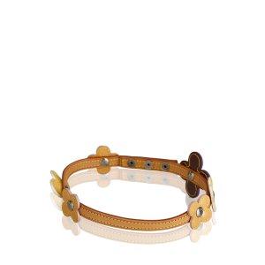 Louis Vuitton Vernis Fleurs Double Wrap Bracelet Choker