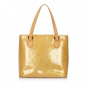 Louis Vuitton Tote yellow imitation leather