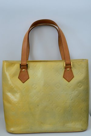 Louis Vuitton Vernis Houston Yellow M91055
