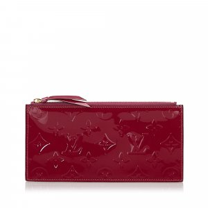 Louis Vuitton Vernis Josephine Wallet Zippered Insert