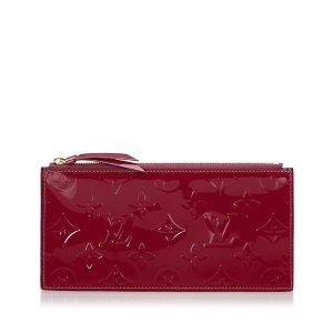 Louis Vuitton Vernis Josephine Wallet Zippered Insert