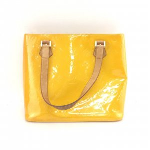 Louis Vuitton Shopper jaune cuir