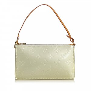 Louis Vuitton Borsetta beige Finta pelle