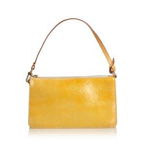 Louis Vuitton Handtas geel Imitatie leer