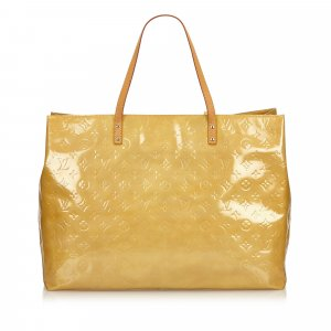 Louis Vuitton Tote beige imitation leather