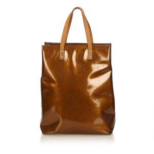 Louis Vuitton Borsa larga bronzo Finta pelle