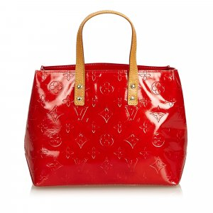 Louis Vuitton Borsa larga rosso Finta pelle