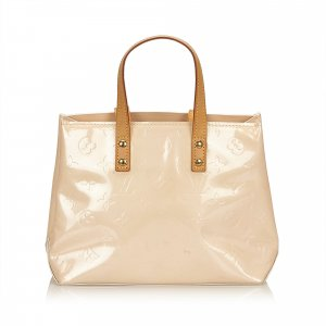 Louis Vuitton Tote white imitation leather