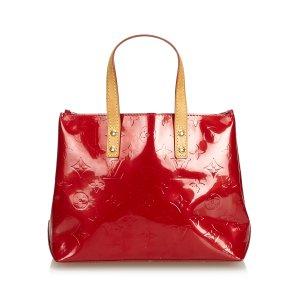 Louis Vuitton Bolso rojo Imitación de cuero
