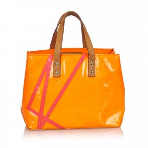 Louis Vuitton Sac fourre-tout orange faux cuir