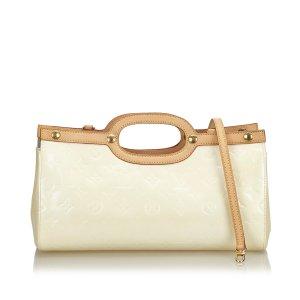 Louis Vuitton Sac à main blanc faux cuir