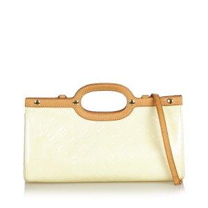 Louis Vuitton Mochila de colegio blanco Imitación de cuero