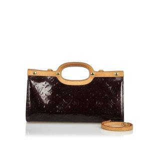 Louis Vuitton Satchel purple imitation leather