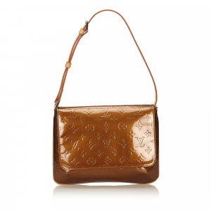 Louis Vuitton Shoulder Bag bronze-colored imitation leather