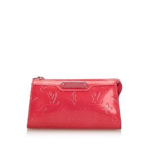 Louis Vuitton Bolso tipo marsupio rosa Imitación de cuero