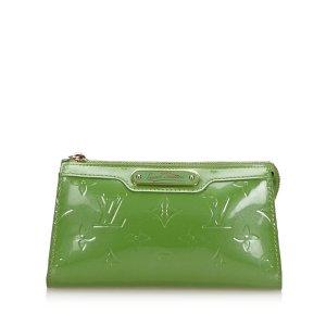 Louis Vuitton Bolso tipo marsupio verde Imitación de cuero