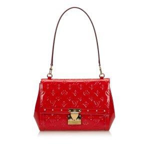 Louis Vuitton Borsa a tracolla rosso Finta pelle