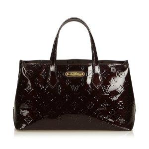 Louis Vuitton Handtas paars Imitatie leer