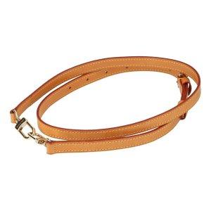 Louis Vuitton Sac bandoulière brun-doré cuir