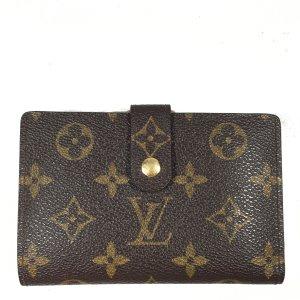 Louis Vuitton Viennois Monogram Canvas Geldbörse Geldbeutel Portemonnaie