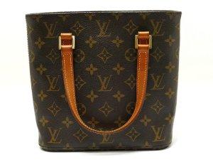 Louis Vuitton Borsa larga marrone Fibra tessile