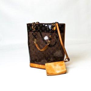 Louis Vuitton Vintage Ambre Cabas MM Shopper