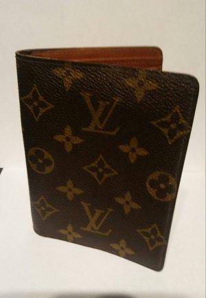 Louis Vuitton Accessoire brons-oker Leer