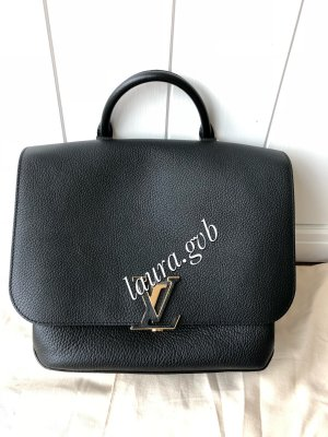 Louis Vuitton Bolso negro-color oro