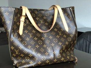 Louis Vuitton Shopper cognac-brun foncé