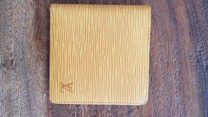 LOUIS VUITTON wallet geldbörse portemonnaie epi leder gelb bifold