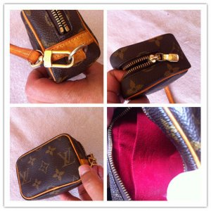 "Louis Vuitton ""Wapity mini Monogram Canvas"" in gutem Zustand"