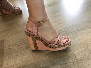 Louis Vuitton Wedges Gr. 37 rosa