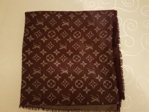 Louis Vuitton Bufanda violeta oscuro