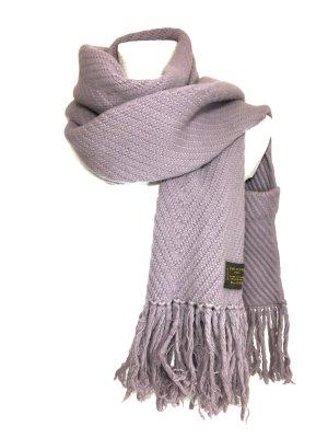 Louis Vuitton XXL Schal aus Wolle und Kaschmir in Flieder Lila