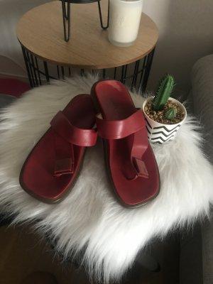 Louis Vuitton Zehentreter Flip-Flop Schuhe * bordoux Gr.38