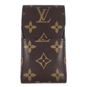 Louis Vuitton Minitasje donkerbruin-bruin