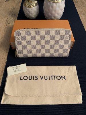Louis Vuitton Cartera blanco puro-azul acero