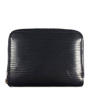 Louis Vuitton Portefeuille noir-argenté